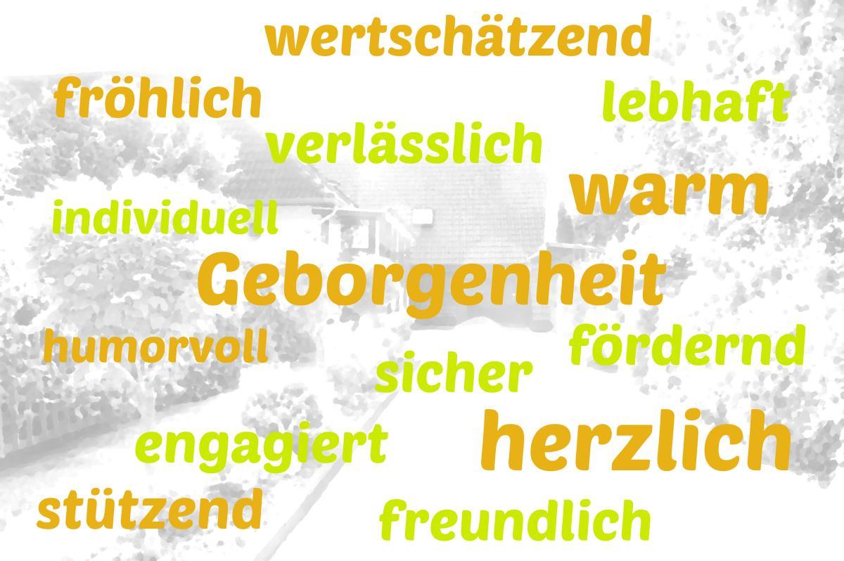 Unsere Werte im Institut für Heilpädagogik in der Gemeinde Ottersberg